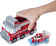 Щенячий Патруль Paw Patrol True Metal Ultimate Fire Rescue Track Set with Exclusive Marshall Die ОРИГІНАЛ, фото 8