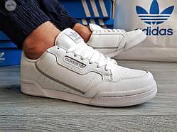 Мужские кроссовки Adidas CONTINENTAL 80 White (р. 43 ) Белые