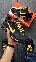 Мужские кроссовки Nike Mercurial 97 Black/Yellow (р. 42,43) Черные
