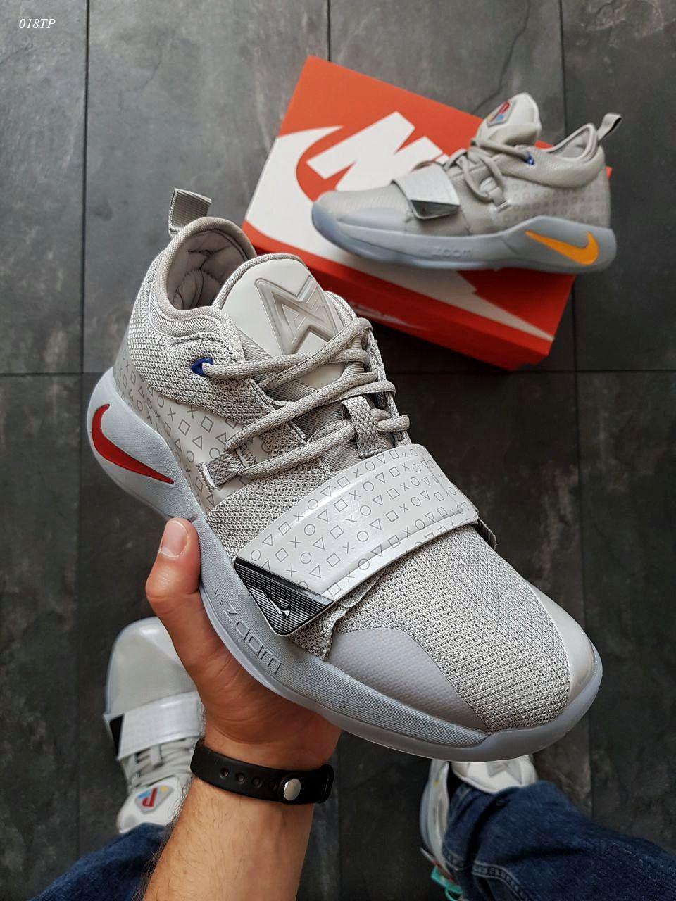 Мужские кроссовки Nike PG2.5 Play Station (р. 43 ) Серые