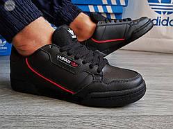 Чоловічі кросівки Adidas CONTINENTAL 80 (р. 41,42,44) Чорні