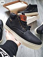 ЗИМА!!! Мужские ботинки Timberlаnd Winter Black (р. 41 42 43 44 45) Черные зимние, фото 1