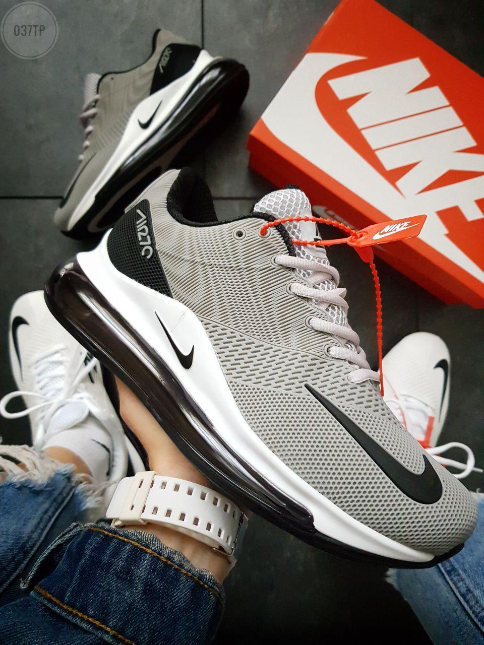 Мужские кроссовки Nike Air Max 720 Gray (р. 41 42 44) Серые