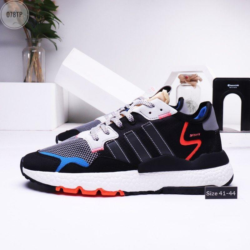 Чоловічі кросівки Adidas Nite Jogger (р. 41 42 43 44) чорні