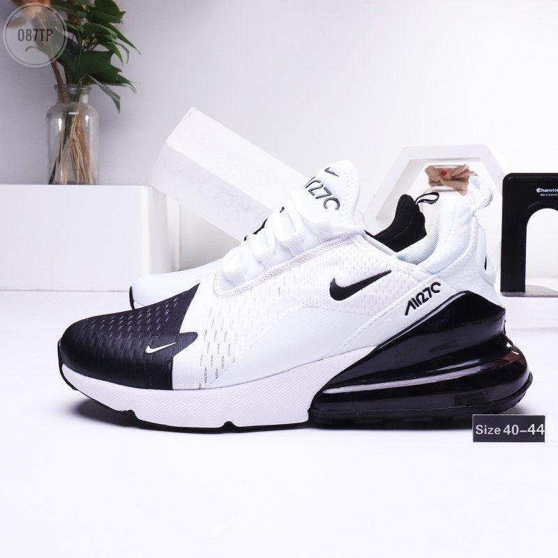 Мужские кроссовки Nike Air Max 270 white black (р. 42.5)