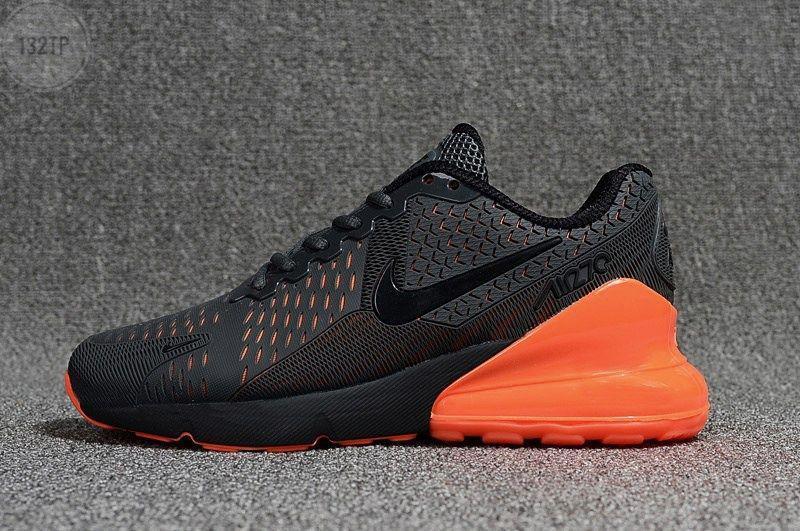Мужские кроссовки Nike Air Max 270 Black (р. 42) Черные