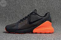 Мужские кроссовки Nike Air Max 270 Black (р. 42) Черные, фото 1