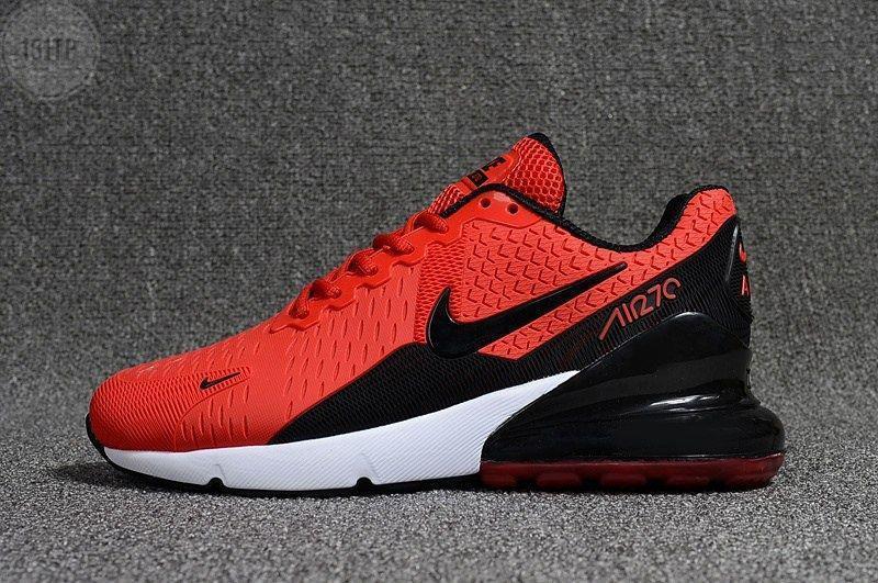 Мужские кроссовки Nike Air Max 270 Red (р. 41-44) Красные
