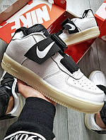 Чоловічі кросівки Nike Air Force 1 UTILITY White (р. 43 і 44) білі, фото 1
