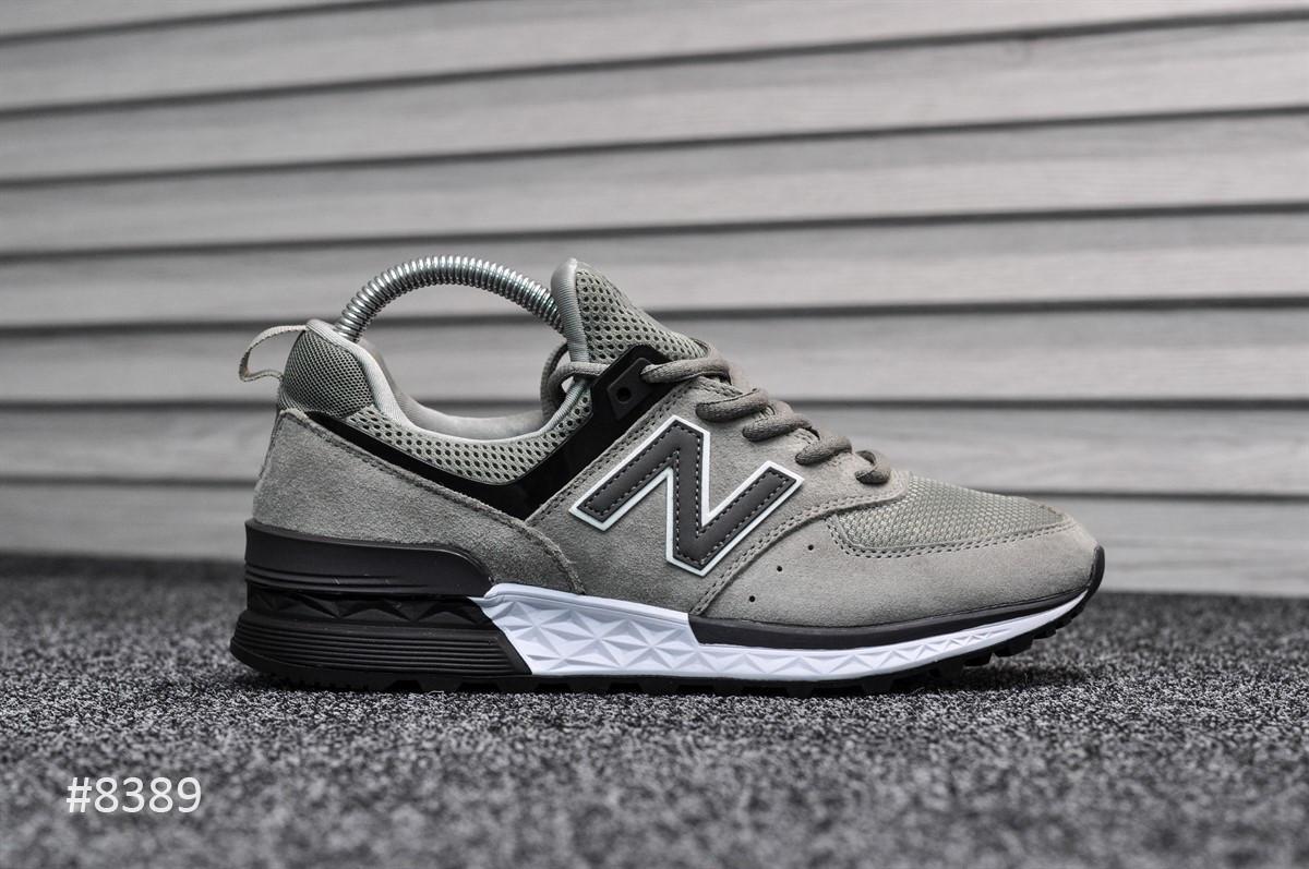 Кросівки чоловічі New Balance 574 Sport Edition Gray