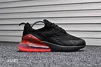 Кроссовки мужские Nike Air Max 270 Black\Red, фото 1