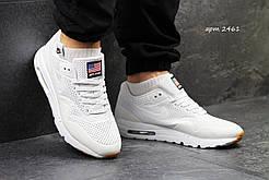Мужские кроссовки Nike Air Max 90 White белые р. 44