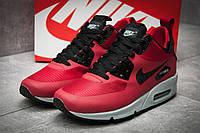 Кросівки чоловічі Nike Air Max 90 Mid, червоні, фото 1