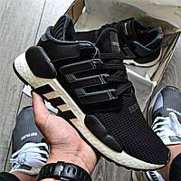 """Мужские кроссовки Adidas EQT SUPPORT Equipment """"Black&White"""", фото 1"""