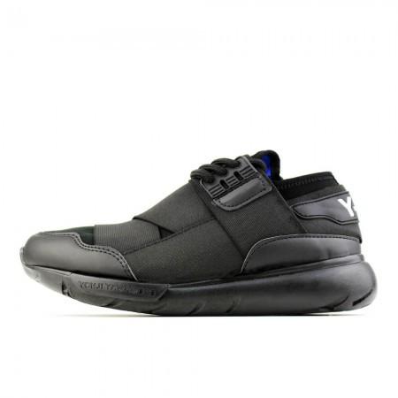 Чоловічі кросівки Adidas Y-3 Qasa High Black