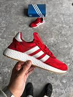 Мужские кроссовки Adidas Iniki Runner 'Core Red' , фото 1