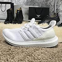 Мужские кроссовки Adidas Ultra Boost Cream Chalk , фото 1