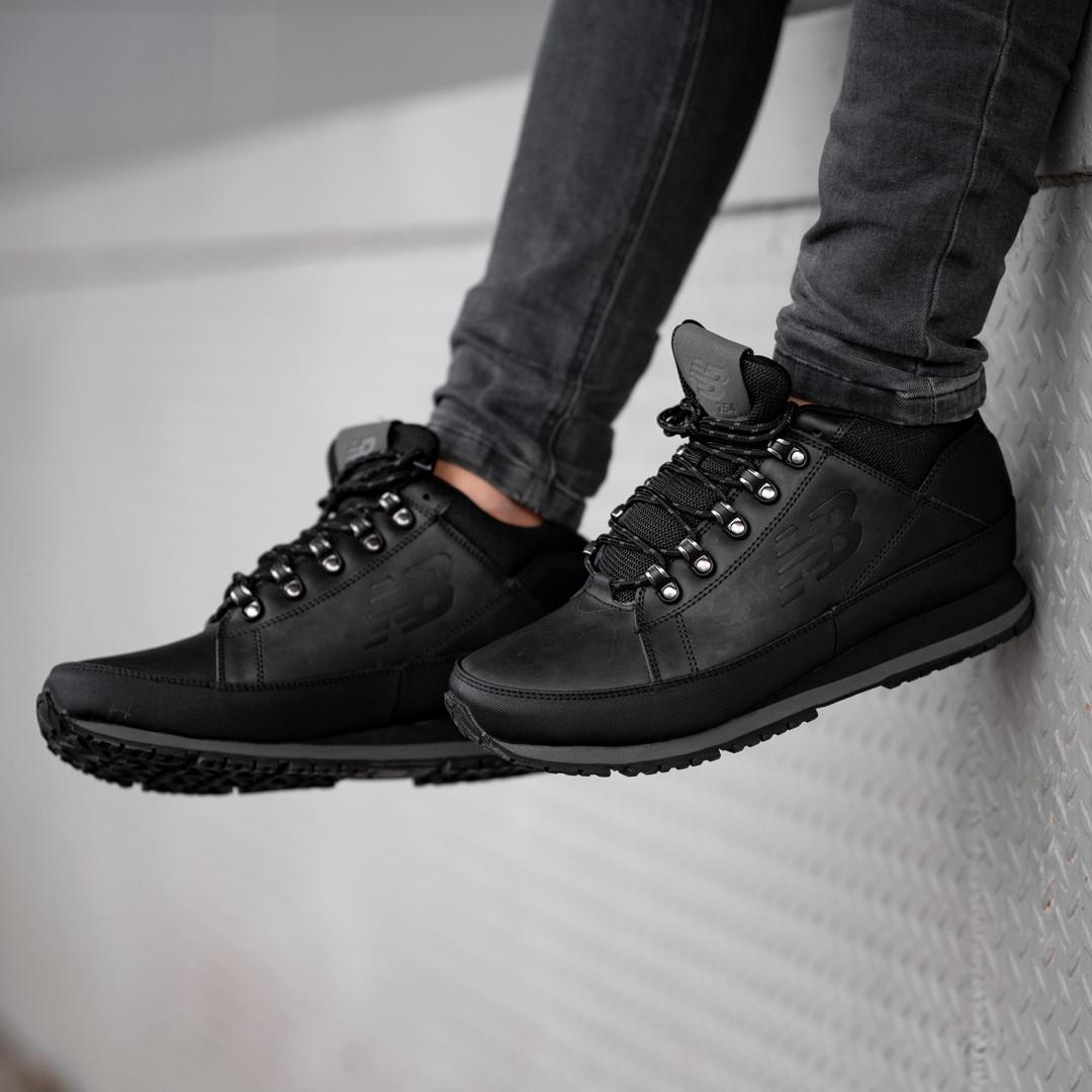 Мужские кроссовки New Balance black (зима).  Размеры (41, 42, 43, 44, 45, 46)