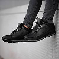 Мужские кроссовки New Balance black (зима).  Размеры (41, 42, 43, 44, 45, 46), фото 1