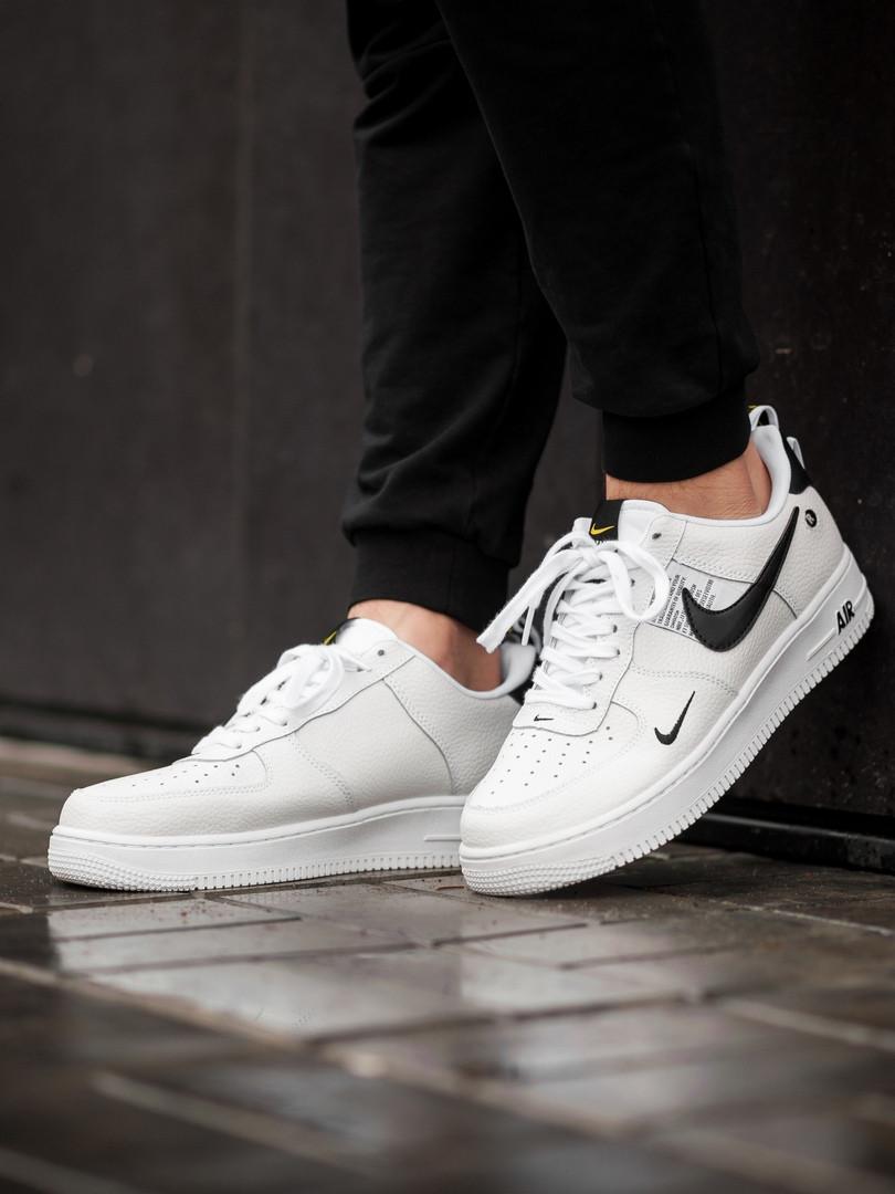 Мужские кроссовки Nike Air Force 1 Utility White. Размеры (41, 42, 43, 44, 45)