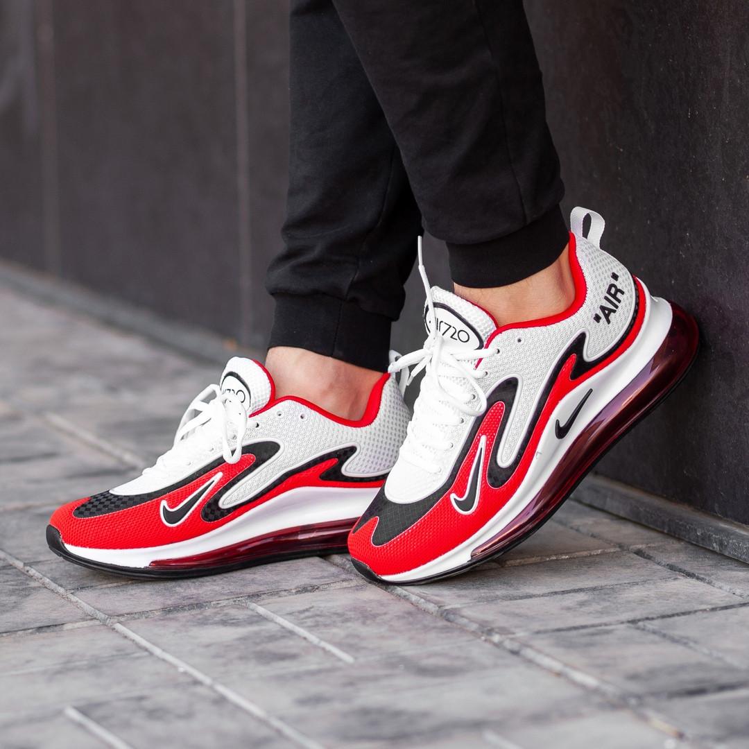 Мужские кроссовки Nike Air Max 720 белые. Размеры (42, 43, 44, 45)