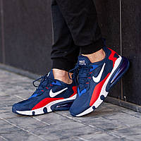Мужские кроссовки Nike Air react 270синие. Размеры (41, 42, 43, 44, 45)