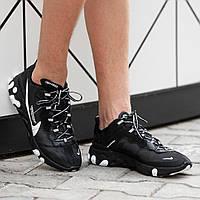 Мужские кроссовки Nike React Elementчёрные. Размеры (41, 42, 43, 44, 45)