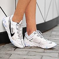 Мужские кроссовки Nike React Element белые. Размеры (41, 42, 43, 44, 45), фото 1