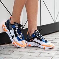 Мужские кроссовки Nike React Elementсиние. Размеры (41, 42, 43, 44, 45)