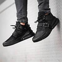 Мужские кроссовки Nike Air Force 270 чёрный, фото 1