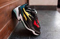 Чоловічі кросівки Puma Thunder чорні. Розміри (41, 42, 43, 44, 45)