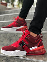 Мужские кроссовки Nike Air Force 270 бордо. Размеры (40, 41, 42, 43, 44, 45)