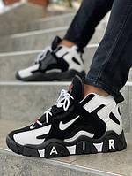 Мужские кроссовки Air Barrage Mid чёрные. Размеры (40, 41, 42, 43, 44, 45), фото 1