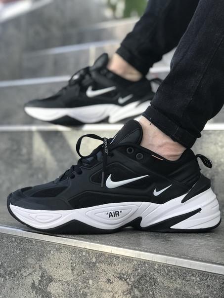 Мужские кроссовки Nike MK Tekno чёрные. Размеры (40,41,42, 43, 44,45)