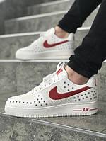 Мужские кроссовки Nike Air Force белый. Размеры (40,41,42,43,44,45)