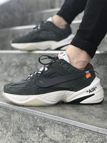 Мужские кроссовки Nike MK 2 Tekno тёмно-серый. Размеры (41,42, 43, 44,45)