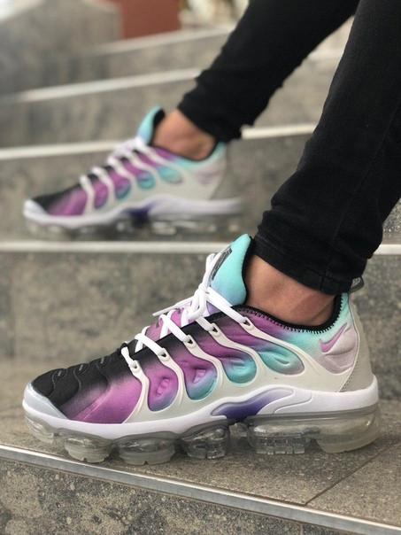 Мужские кроссовки Nike Air Max Vapormax сиреневые. Размеры (40,41,42,43,44,45)