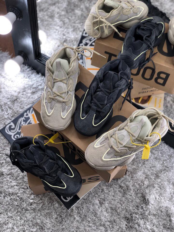 Мужские кроссовки Adidas Yeezy Desert Rat 500