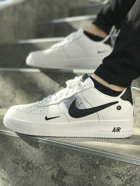 Мужские кроссовки Nike Air Force LV8 White. Размеры (41,42,43,44,45)