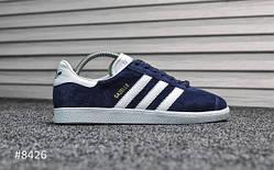 Мужские кроссовки Adidas Gazelle II Deep Blue