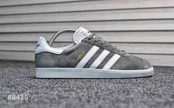 Мужские кроссовки Adidas Gazelle Gray