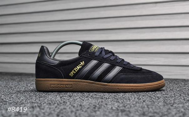Мужские кроссовки Adidas Spezial Deep Blue, ( последний 44 размер)