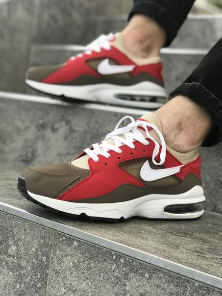 Мужские кроссовки NIke Air Max 93 коричневые. Размеры (41,42,43,44,45)