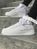 Мужские кроссовки Nike Air Force 1 Special Field   Найк Спешл Филд Высокие Белые, фото 1