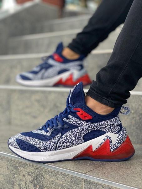 Мужские кроссовки Puma Thunder синие. Размеры ( 40,41,42,43,44,45 )