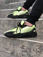 Мужские кроссовки Adidas Yeezy 700 салатовые. Размеры (40,41,42,43,44,45)