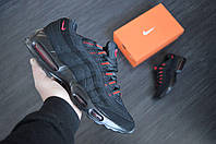 Мужские кроссовки Nike Air Max 95 Black , фото 1