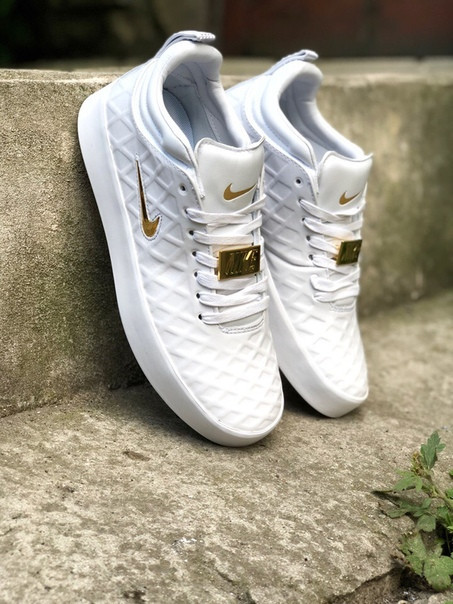 Мужские кроссовки Nike Tempo Vetta 17 белые (44,45)