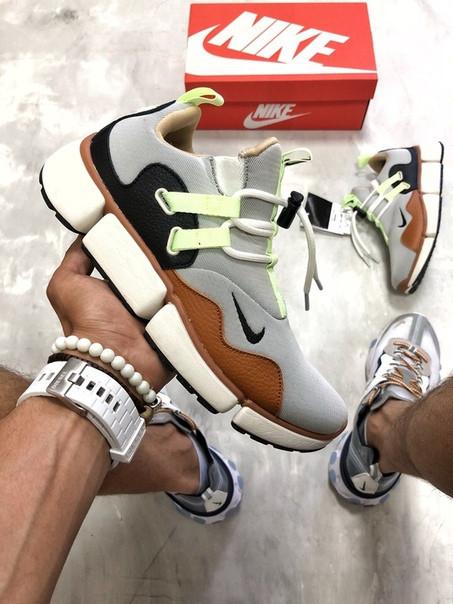 Мужские кроссовки Nike Pocket Knife DM серый. Размеры (40,41,42,43,44,45)