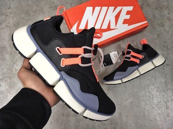 Мужские кроссовки Nike Pocket Knife DM чёрный. Размеры (40,41,42,43,44,45)